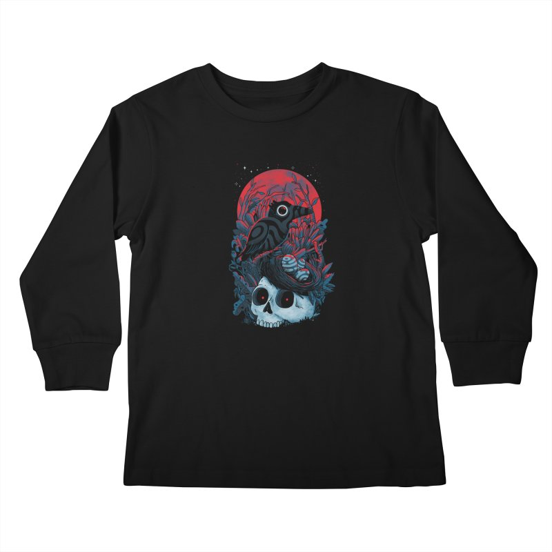 Rebirth Kids Longsleeve T-Shirt by MadKobra