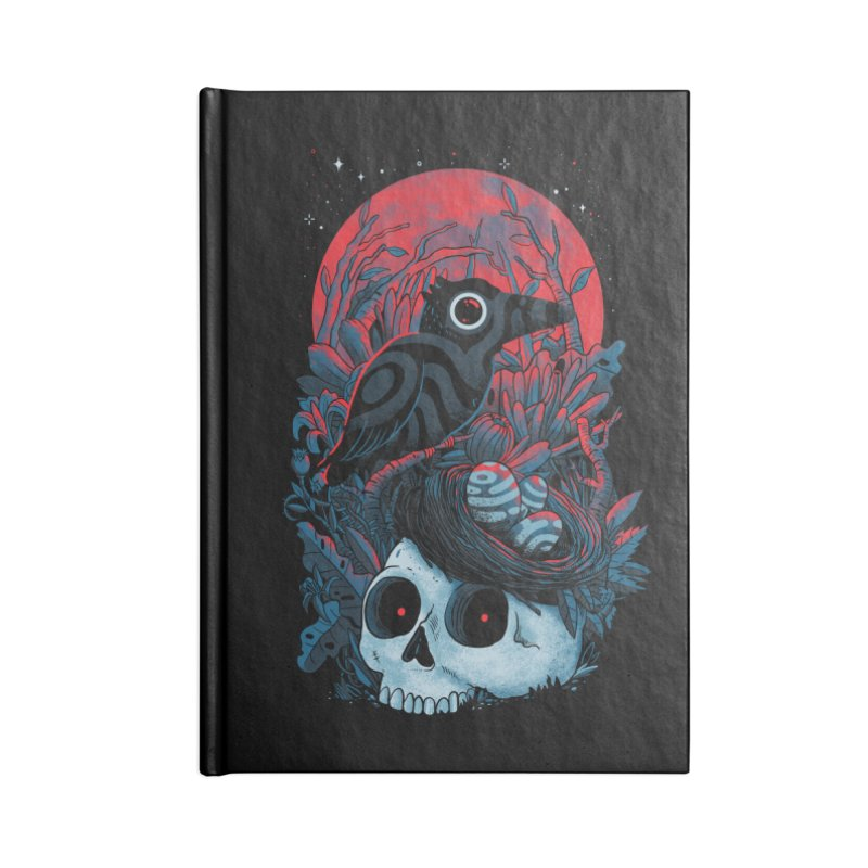 Rebirth Accessories Lined Journal Notebook by MadKobra