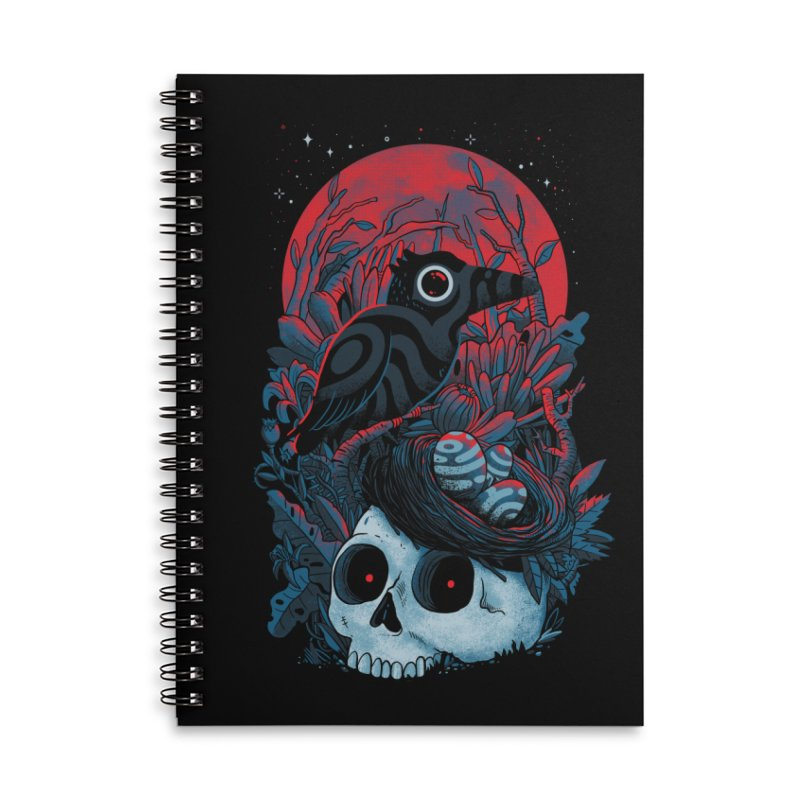 Rebirth Accessories Lined Spiral Notebook by MadKobra