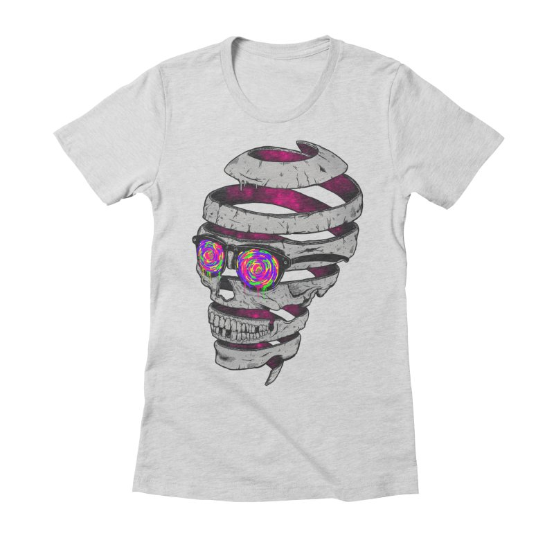 Life is a Wonderful Color Women's Fitted T-Shirt by MadKobra