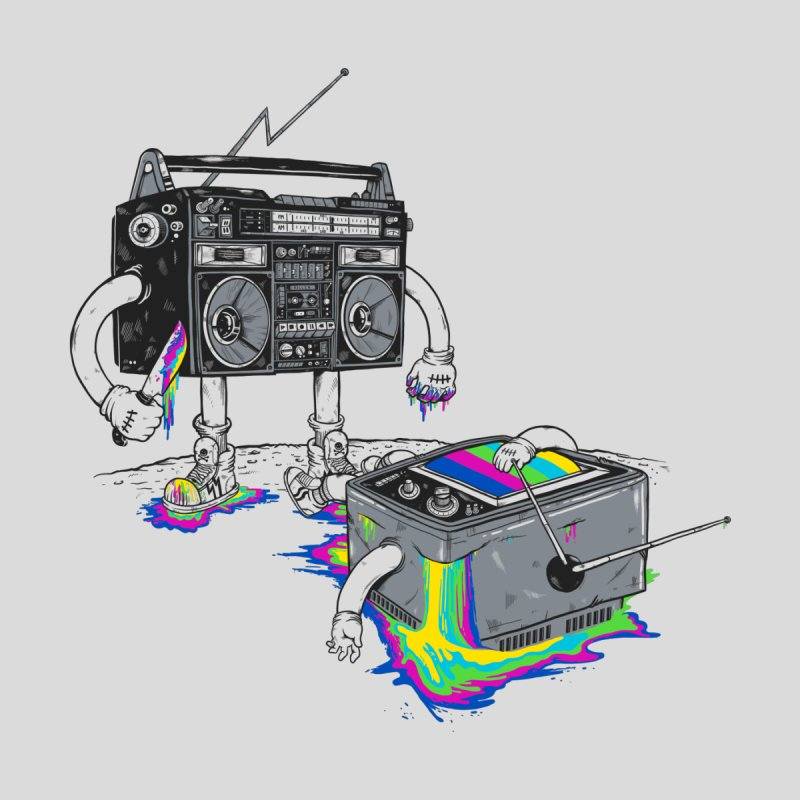 Revenge of the Radio Star   by MadKobra