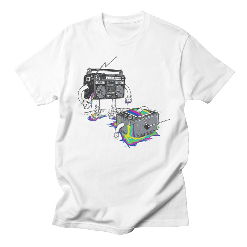 Revenge of the Radio Star Men's Regular T-Shirt by MadKobra