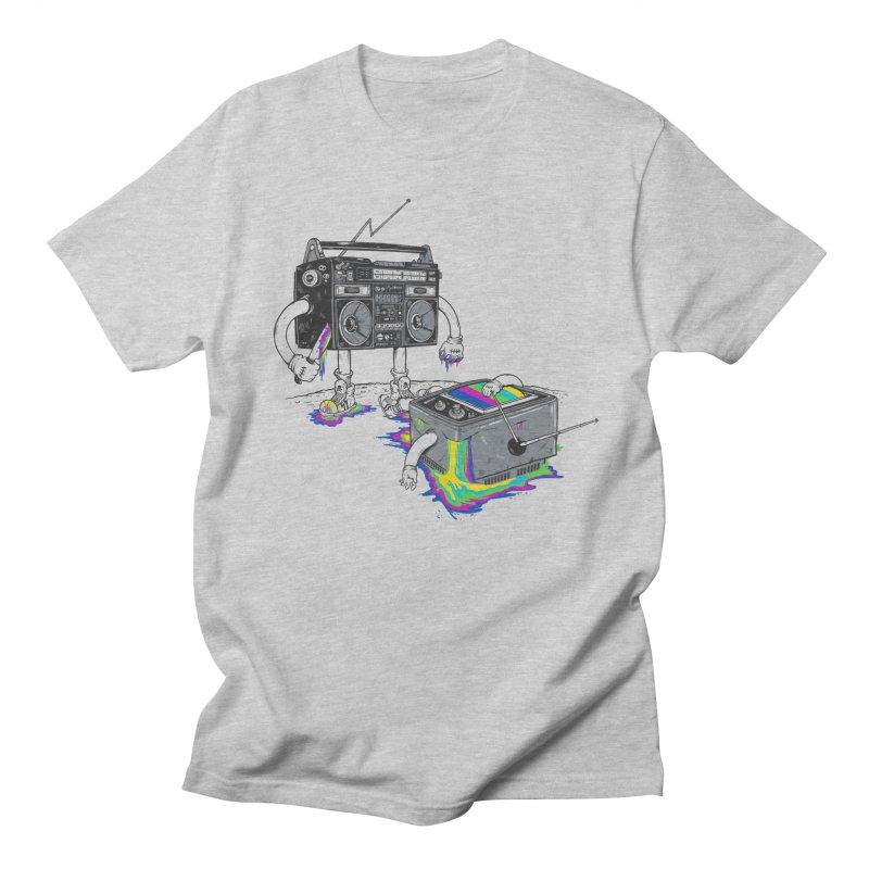 Revenge of the Radio Star Men's T-shirt by MadKobra
