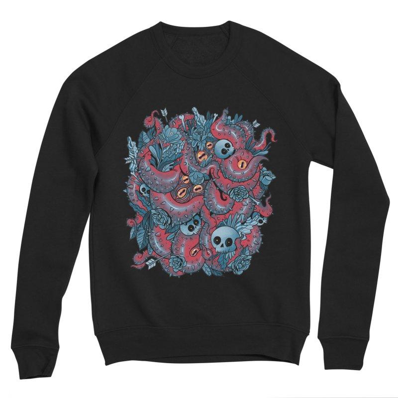 Bone & Roses Women's Sponge Fleece Sweatshirt by MadKobra