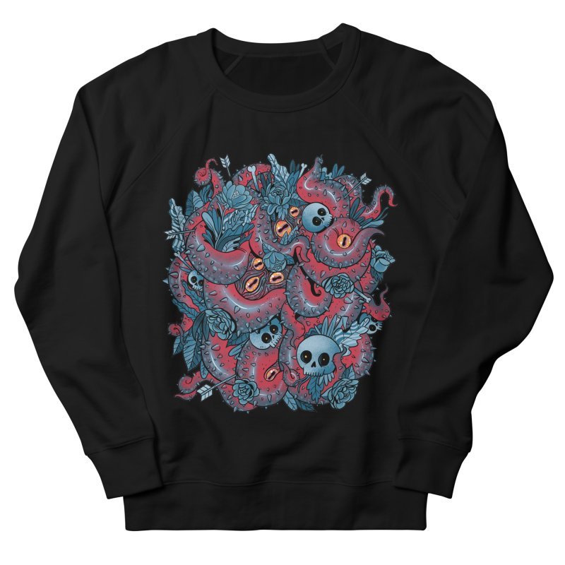 Bone & Roses Women's French Terry Sweatshirt by MadKobra