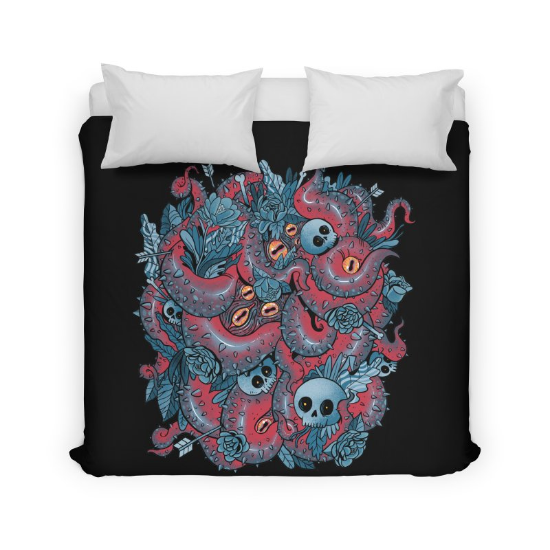 Bone & Roses Home Duvet by MadKobra