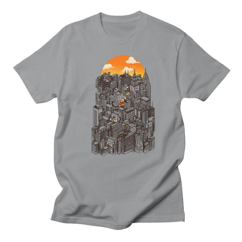 The City That Never Sleeps Takes a Break Men's Regular T-Shirt by MadKobra