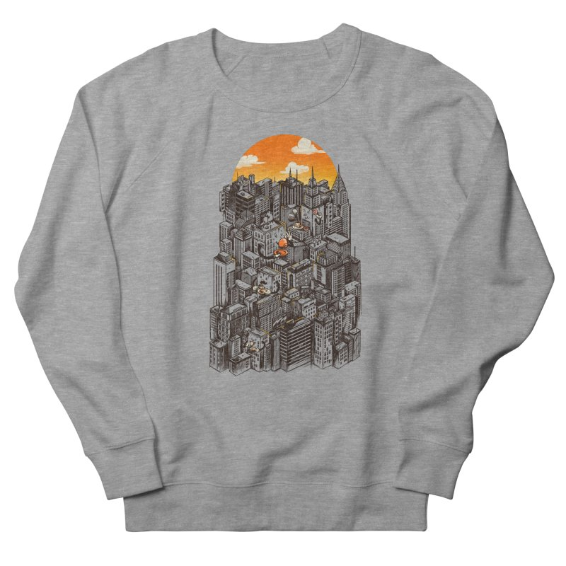 The City That Never Sleeps Takes a Break Women's Sweatshirt by MadKobra