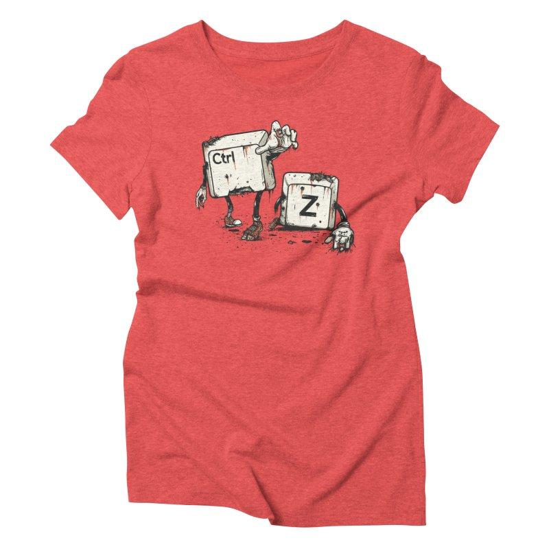 Walking Undoead Women's Triblend T-Shirt by MadKobra