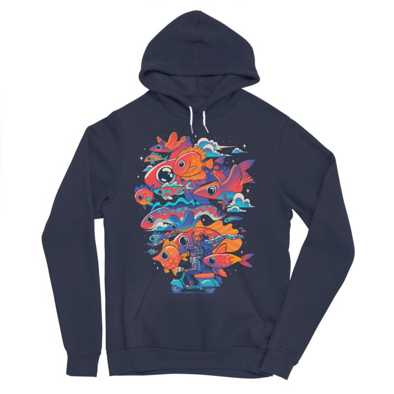 Let's get lost Men's Sponge Fleece Pullover Hoody by MadKobra