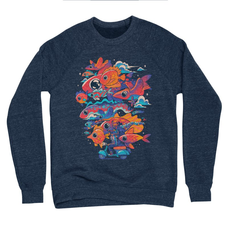 Let's get lost Men's Sponge Fleece Sweatshirt by MadKobra