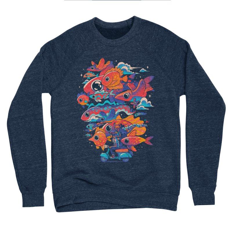 Let's get lost Women's Sponge Fleece Sweatshirt by MadKobra