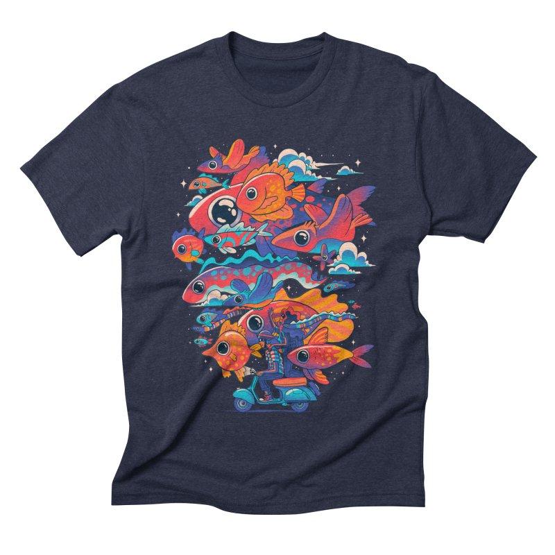 Let's get lost Men's Triblend T-Shirt by MadKobra
