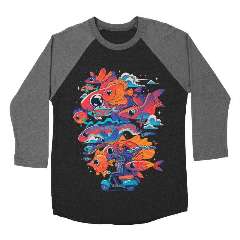 Let's get lost Men's Baseball Triblend Longsleeve T-Shirt by MadKobra