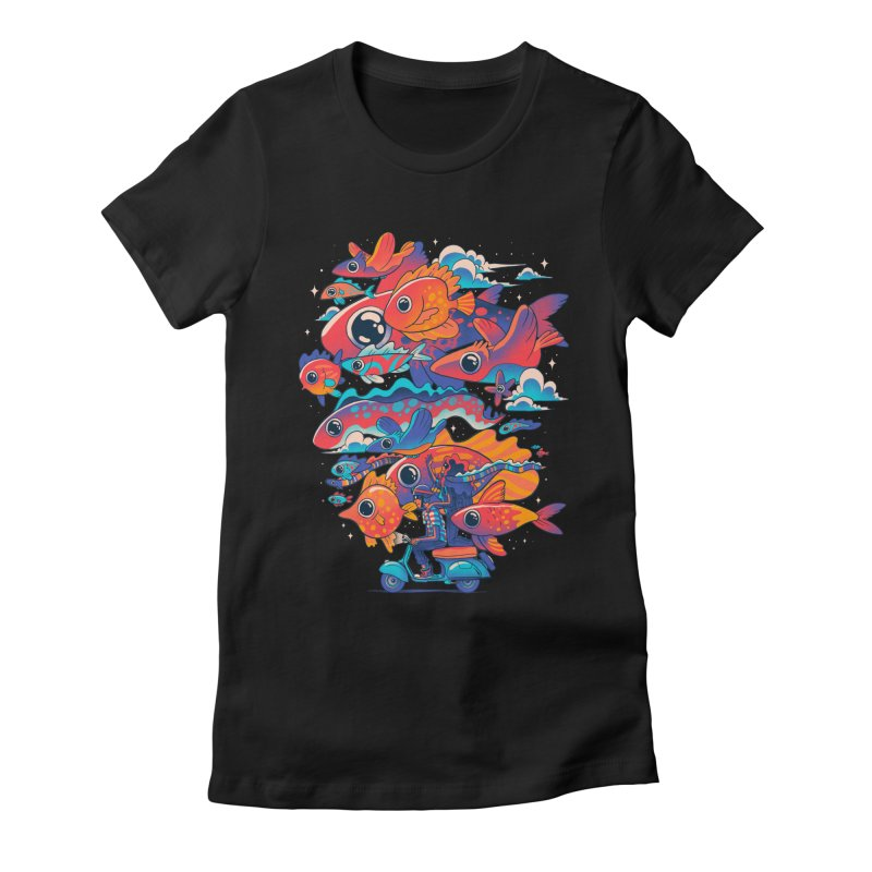 Let's get lost Women's Fitted T-Shirt by MadKobra