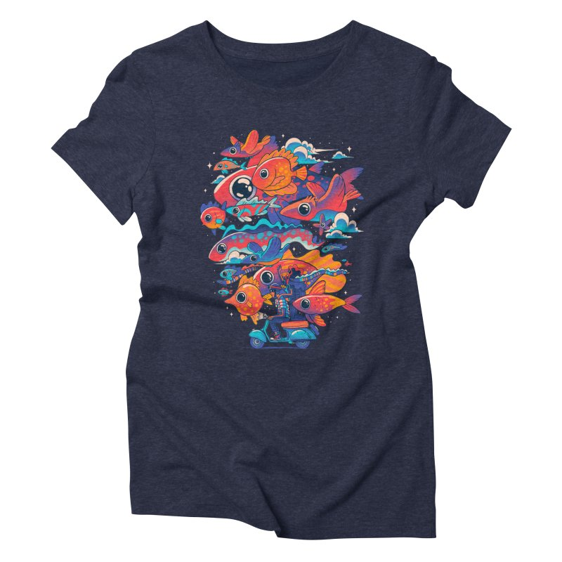 Let's get lost Women's Triblend T-Shirt by MadKobra