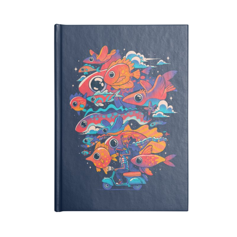Let's get lost Accessories Blank Journal Notebook by MadKobra