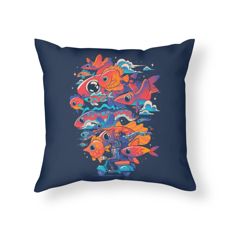 Let's get lost Home Throw Pillow by MadKobra