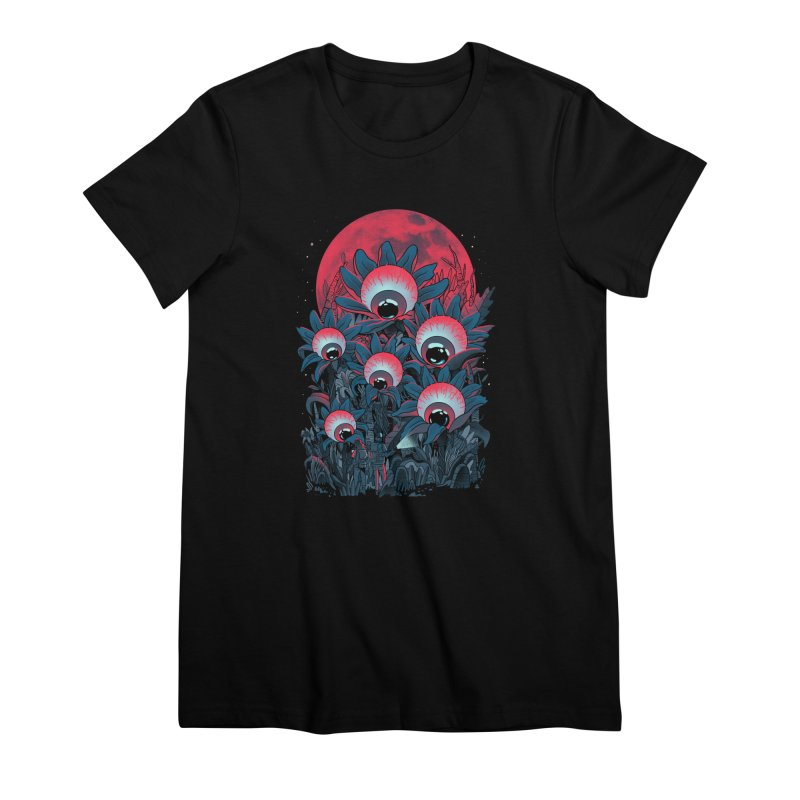 Lurking Forest Women's Premium T-Shirt by MadKobra