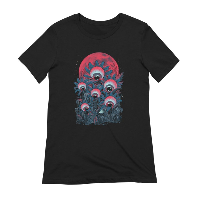 Lurking Forest Women's Extra Soft T-Shirt by MadKobra