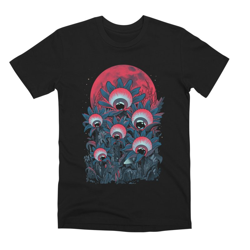 Lurking Forest Men's Premium T-Shirt by MadKobra
