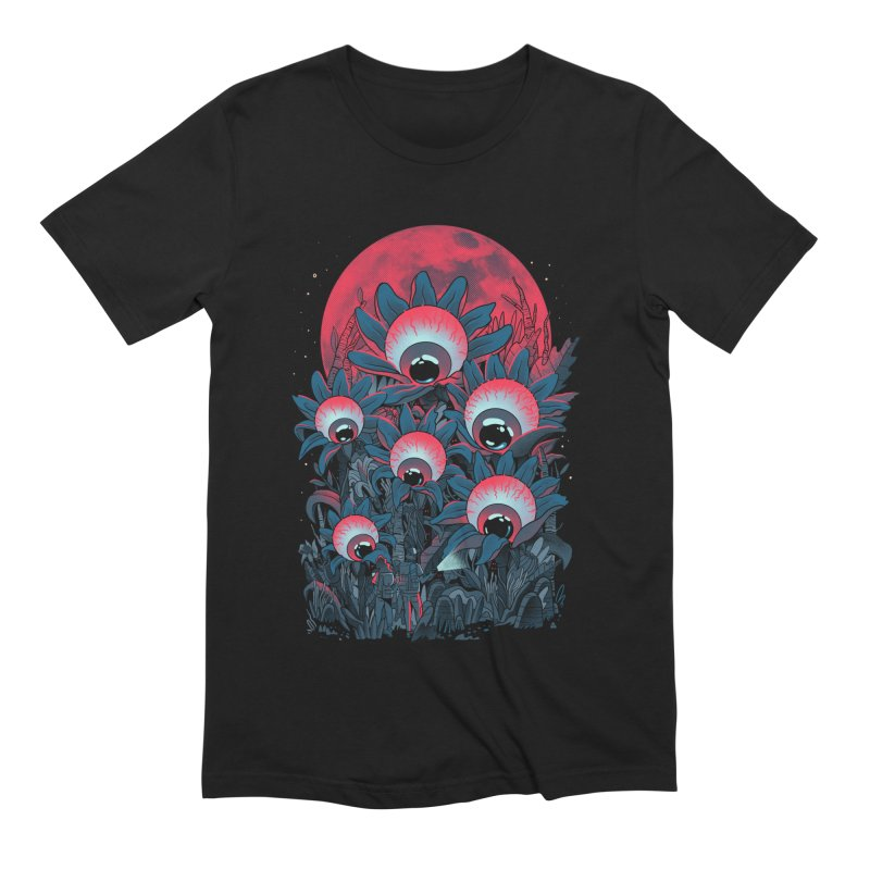 Lurking Forest Men's Extra Soft T-Shirt by MadKobra