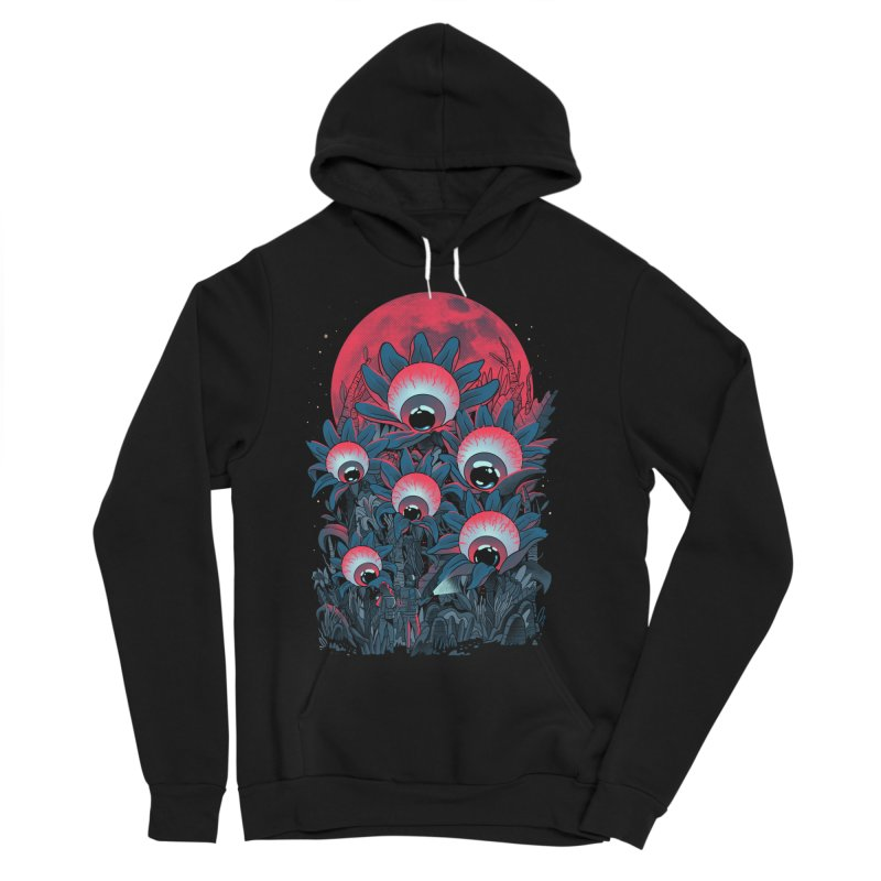 Lurking Forest Men's Sponge Fleece Pullover Hoody by MadKobra