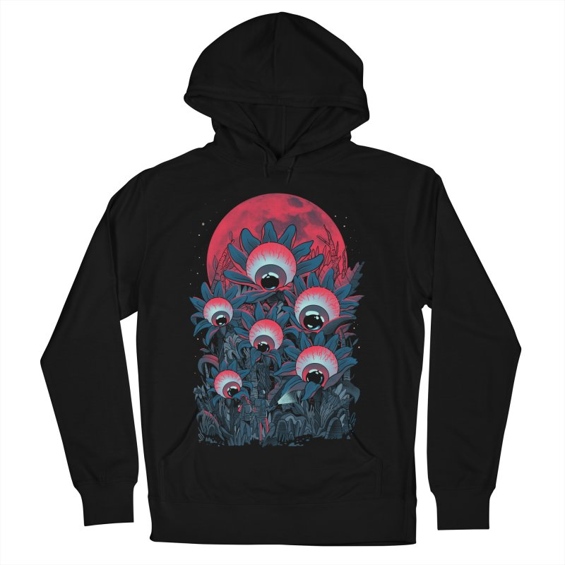 Lurking Forest Men's French Terry Pullover Hoody by MadKobra
