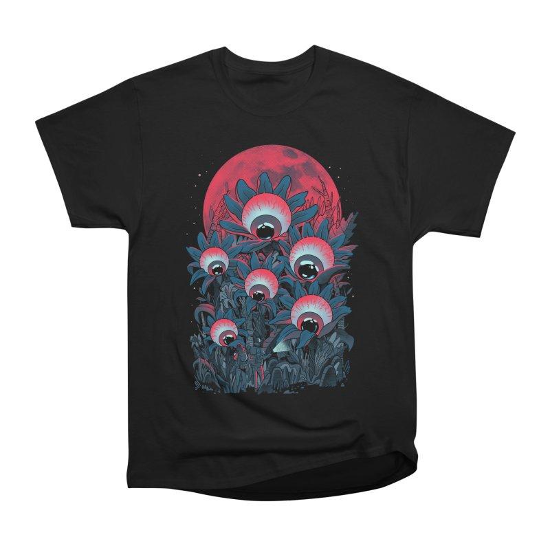 Lurking Forest Men's Heavyweight T-Shirt by MadKobra