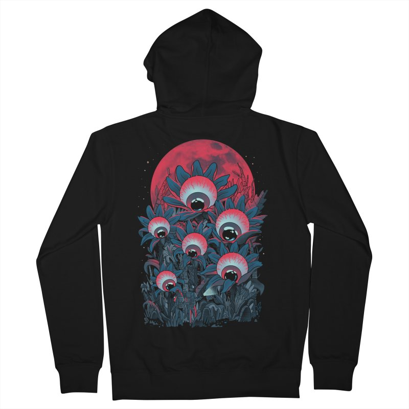 Lurking Forest Women's French Terry Zip-Up Hoody by MadKobra