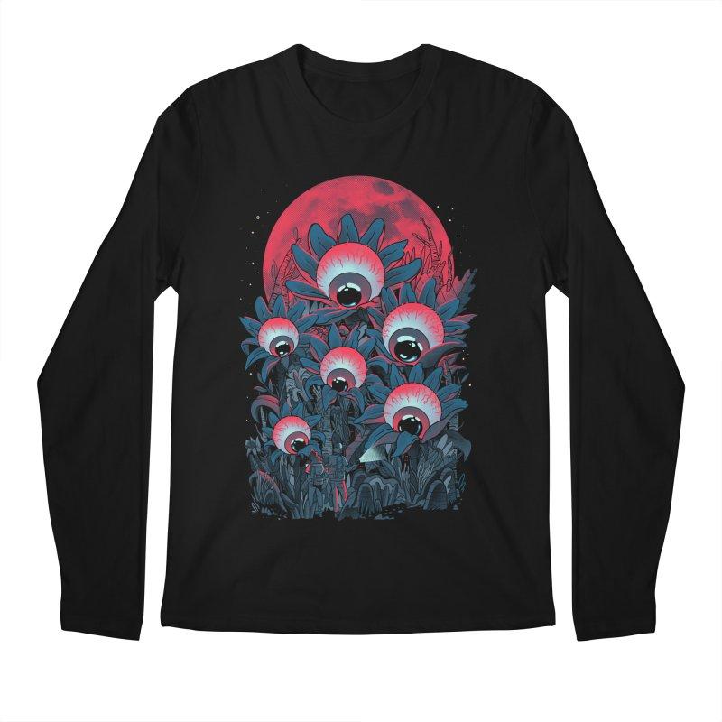 Lurking Forest Men's Regular Longsleeve T-Shirt by MadKobra
