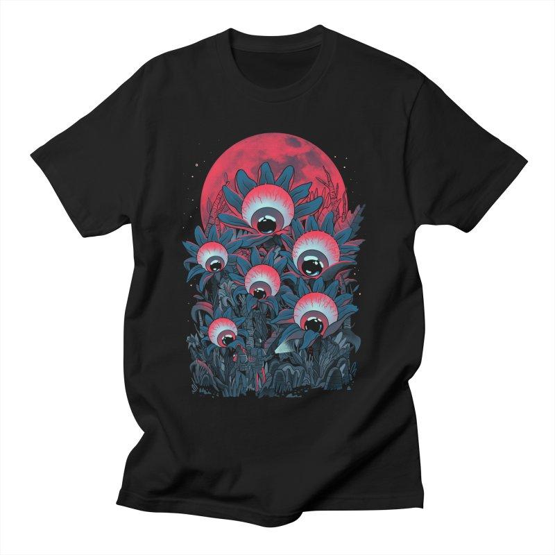 Lurking Forest Men's T-Shirt by MadKobra