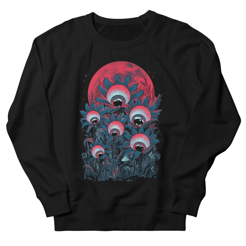 Lurking Forest Women's French Terry Sweatshirt by MadKobra
