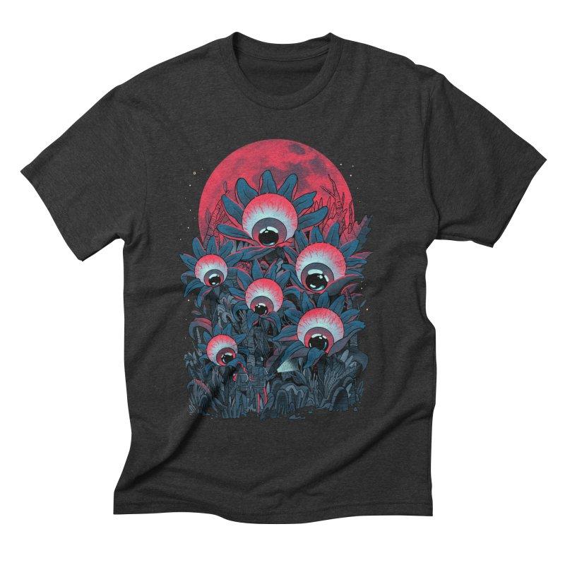 Lurking Forest Men's Triblend T-Shirt by MadKobra