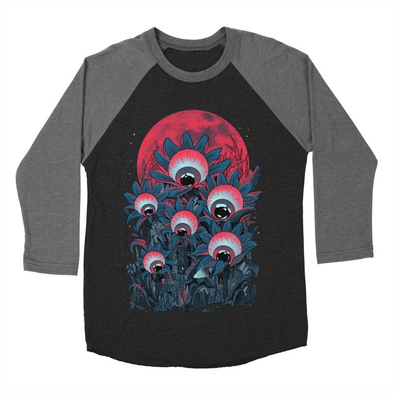 Lurking Forest Women's Baseball Triblend Longsleeve T-Shirt by MadKobra