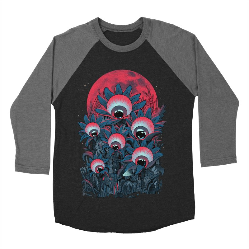 Lurking Forest Men's Baseball Triblend Longsleeve T-Shirt by MadKobra