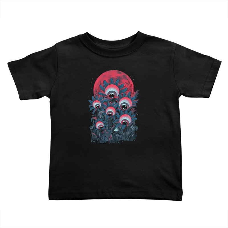 Lurking Forest Kids Toddler T-Shirt by MadKobra