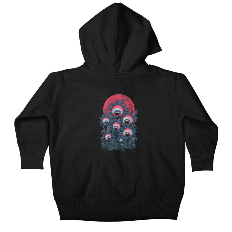 Lurking Forest Kids Baby Zip-Up Hoody by MadKobra