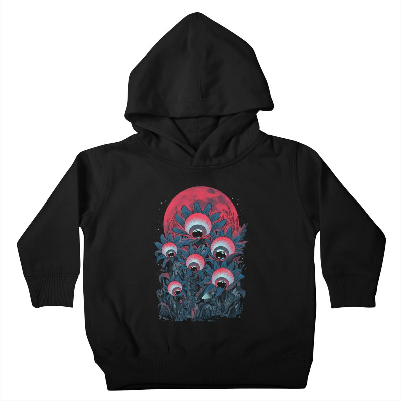 Lurking Forest Kids Toddler Pullover Hoody by MadKobra