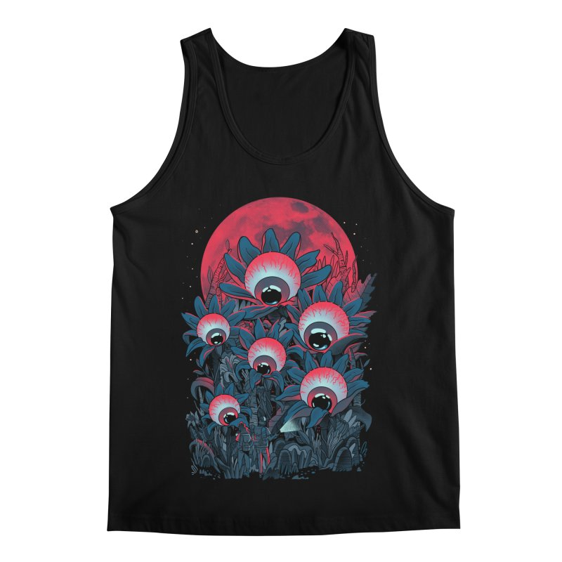 Lurking Forest Men's Regular Tank by MadKobra