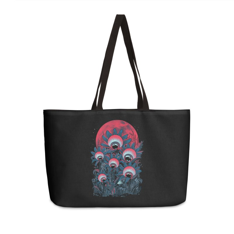 Lurking Forest Accessories Weekender Bag Bag by MadKobra