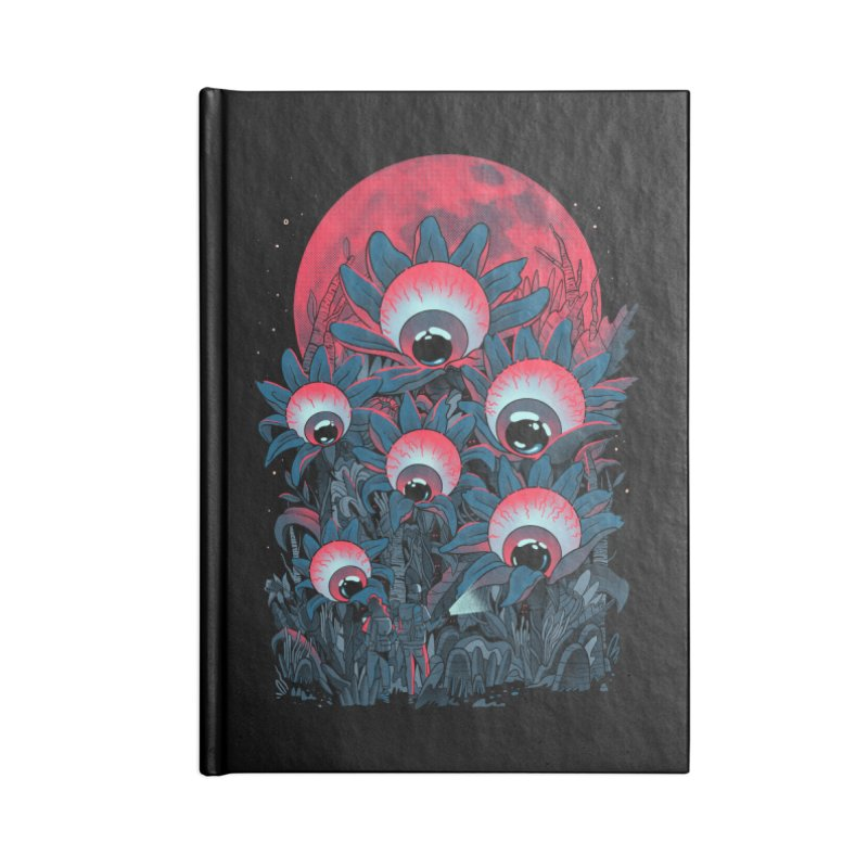 Lurking Forest Accessories Lined Journal Notebook by MadKobra