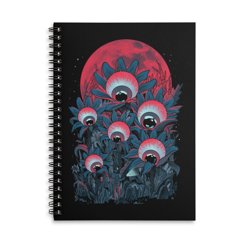 Lurking Forest Accessories Lined Spiral Notebook by MadKobra