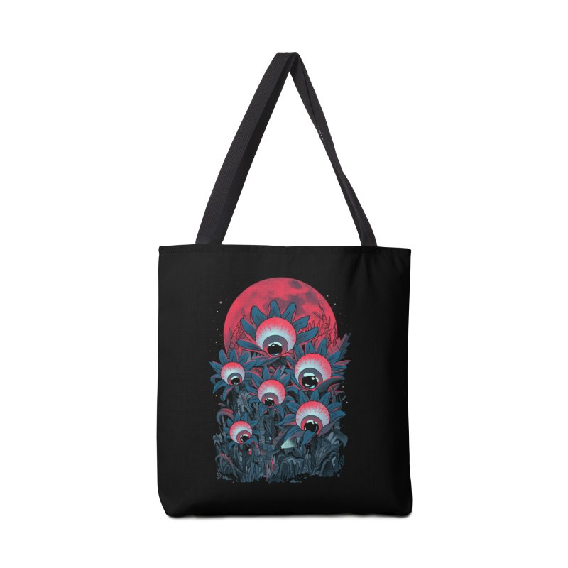 Lurking Forest Accessories Tote Bag Bag by MadKobra