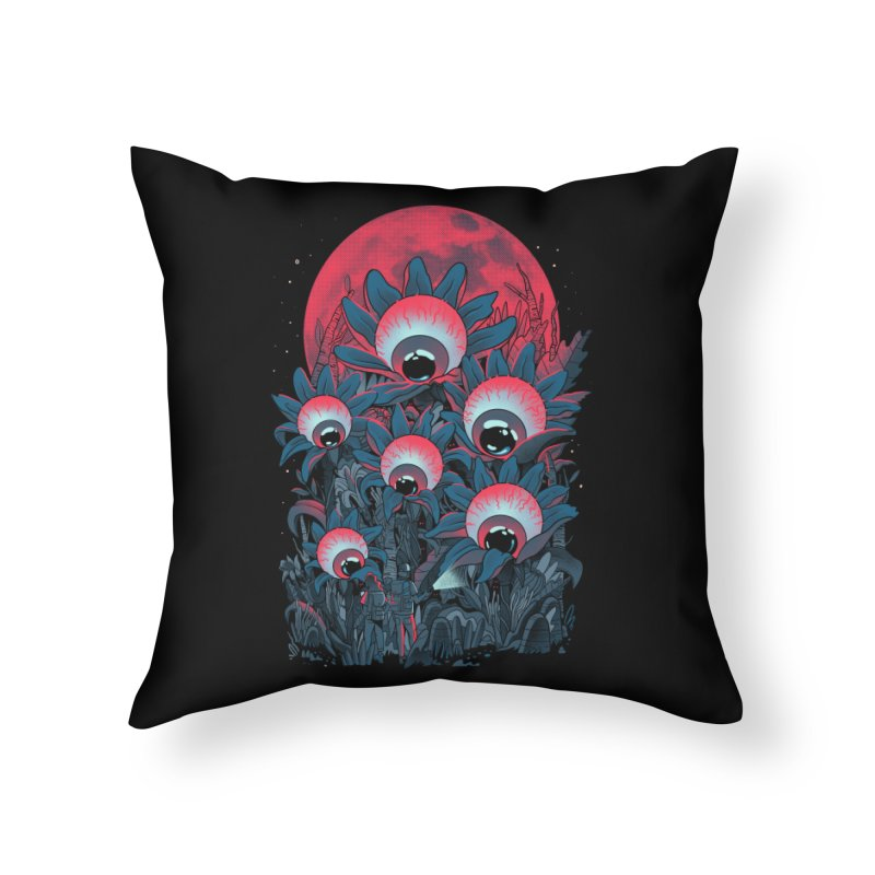 Lurking Forest Home Throw Pillow by MadKobra