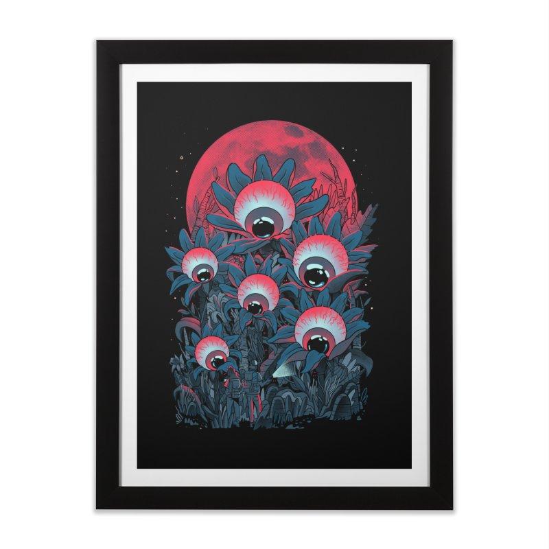 Lurking Forest Home Framed Fine Art Print by MadKobra