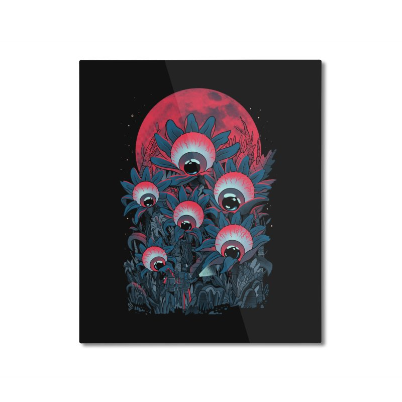 Lurking Forest Home Mounted Aluminum Print by MadKobra