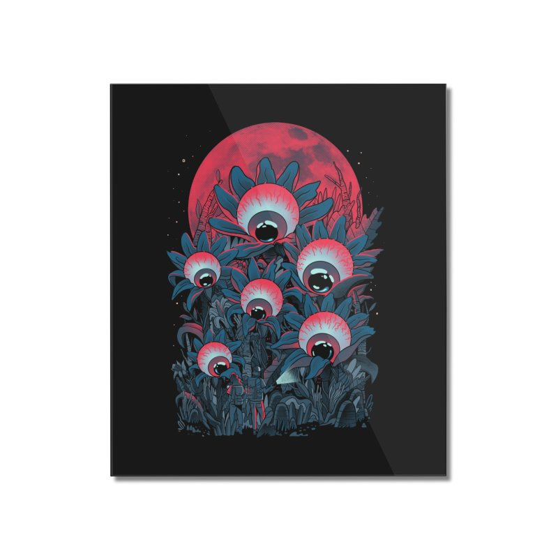 Lurking Forest Home Mounted Acrylic Print by MadKobra
