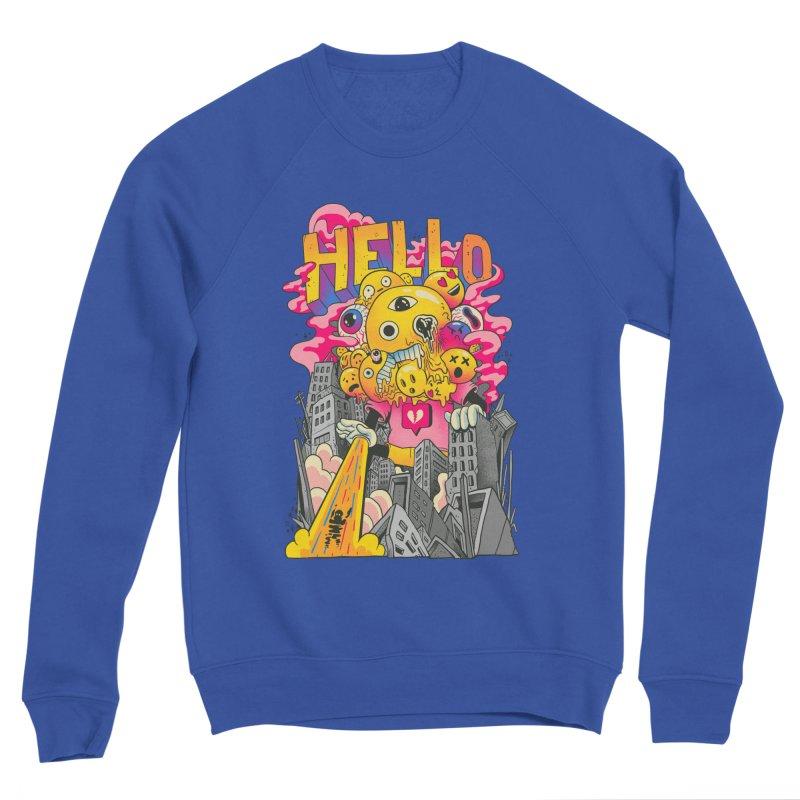 social issues Women's Sponge Fleece Sweatshirt by MadKobra