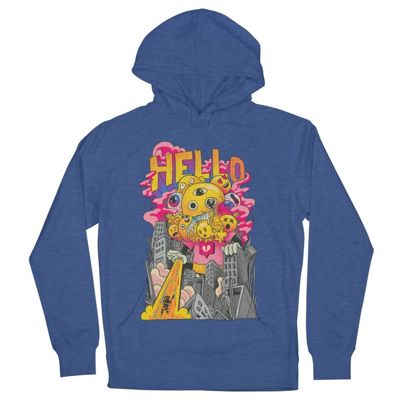 social issues Women's French Terry Pullover Hoody by MadKobra